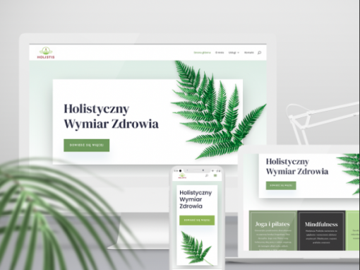 Holistis – Web design